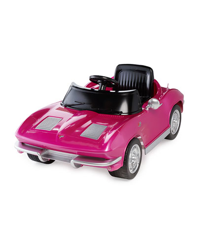 Kids' 1963 Corvette Stingray, Pink