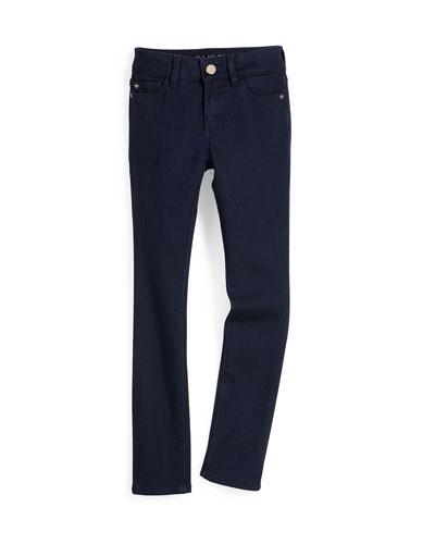 Chloe Skinny Activex Twill Pants, Flatiron, Size 7-16