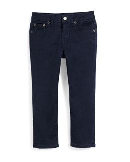 Slim-Fit Stretch Jeans, Coastal, Size 2-7