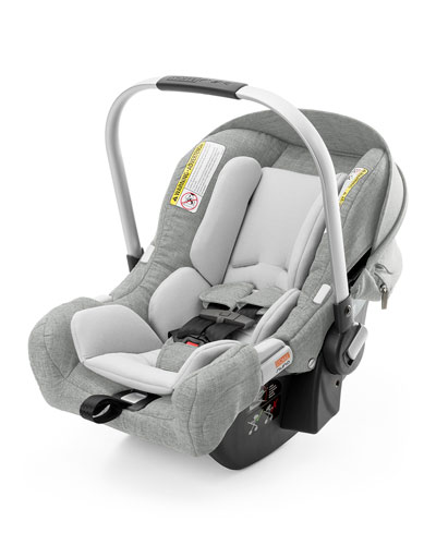 PIPA™ by Nuna® Car Seat & Base, Black Melange