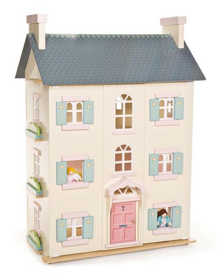 """Cherry Tree Hall"" Four-Story Dollhouse"