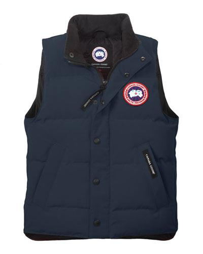 Vanier Down Puffer Vest, Spirit, Size XS(6-7)-XL(12-14)