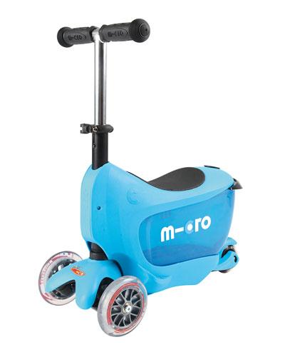 Mini2Go 3-in-1 Scooter, Blue