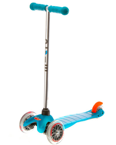 Mini Micro Scooter, Aqua
