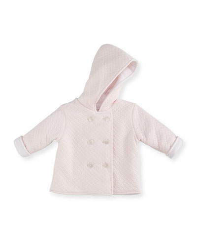 Heavenly Dreams Pima Padded Jacket, Pink, Size 3-18 Months