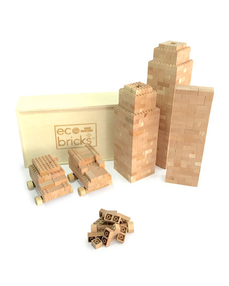 Once KidsEco Bricks Blocks, 250-Piece Set