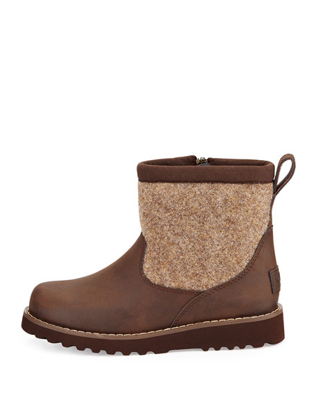 Canada Goose victoria parka replica 2016 - UGG Australia Bayson Wool-Trim Leather Boot, Stout, Youth