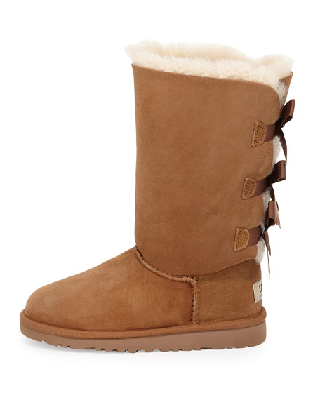 Bailey Tall Boot with Bow, Kid Sizes 13T-4Y