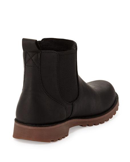 Callum Leather Chelsea Boot, Black, Toddler