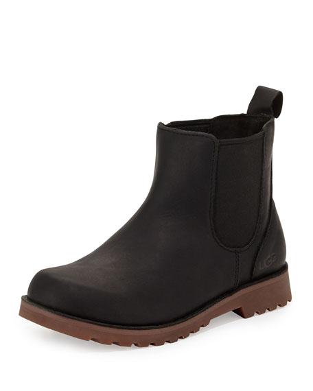 UGG Australia UGG Callum Leather Chelsea Boot, Black,