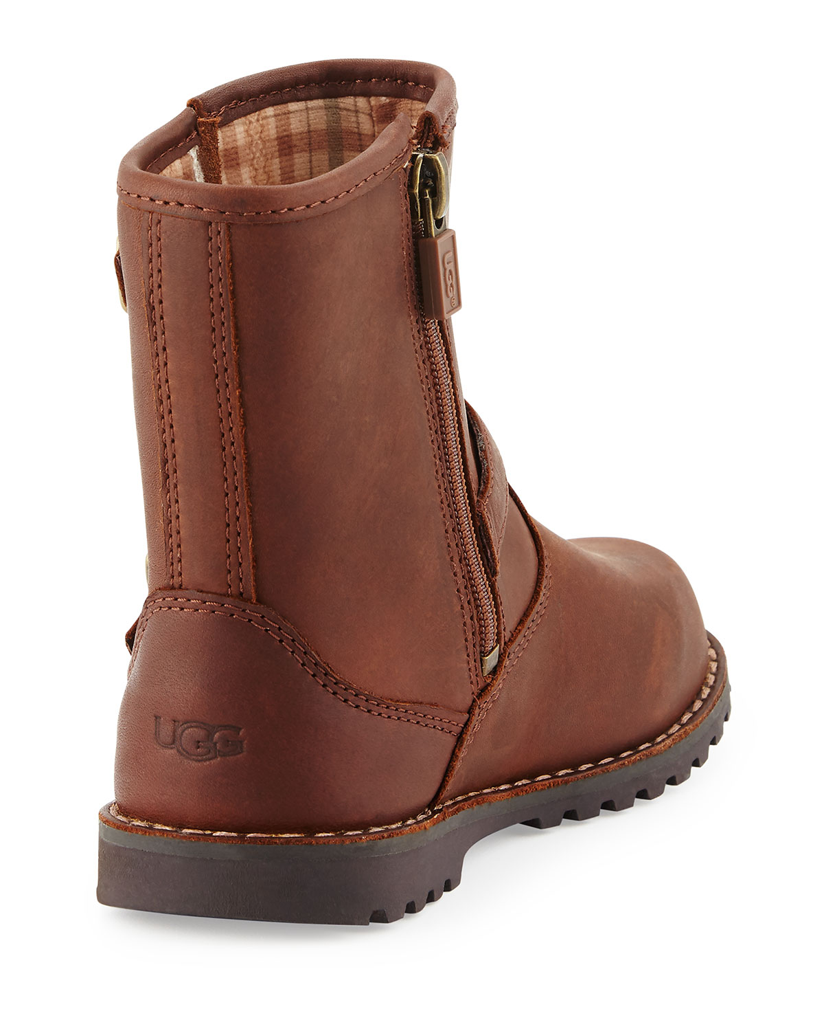 7544b4badec Harwell Leather Buckle-Trim Boot, Stout, Toddler Sizes 6-12