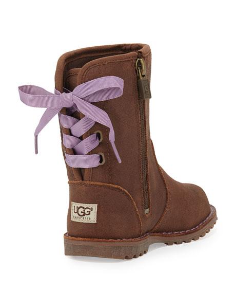 a53b397a5da Corene Suede Boot, Chocolate, Toddler