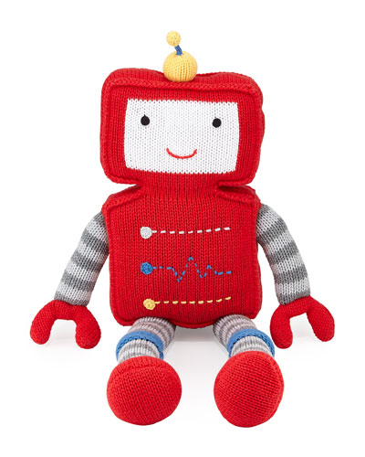 Cotton Robot Doll, Red