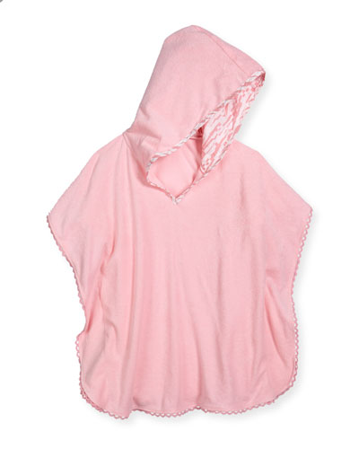 Spring Bloom Kids' Hooded Hannalei Poncho
