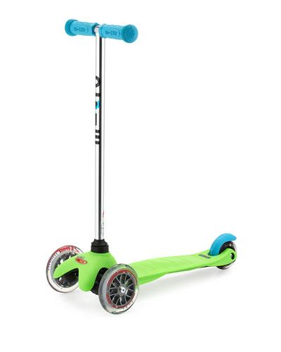 Mini Micro Scooter, Green/Blue