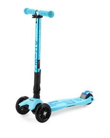 micro kickboard maxi deluxe foldable scooter blue. Black Bedroom Furniture Sets. Home Design Ideas