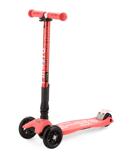 micro kickboard maxi deluxe foldable scooter pink. Black Bedroom Furniture Sets. Home Design Ideas