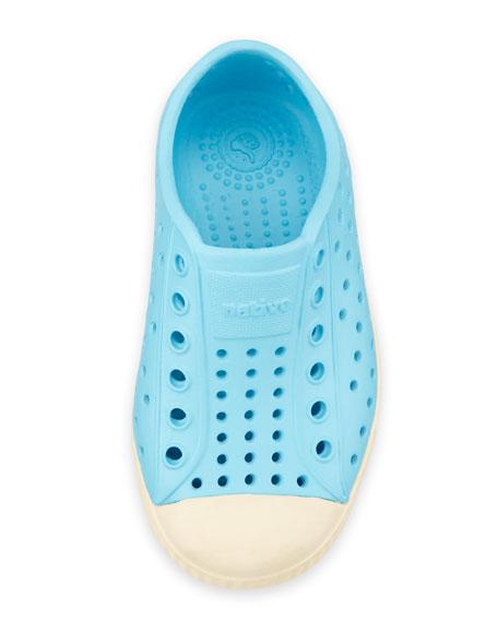 Jefferson Waterproof Low-Top Shoe, Surfer Blue, Youth