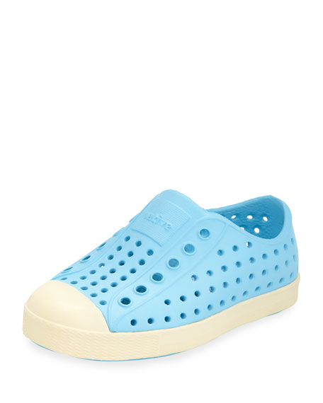 Native Jefferson Waterproof Low-Top Shoe, Surfer Blue, Youth
