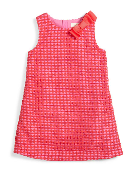 kate spade new york sleeveless lace shift dress,