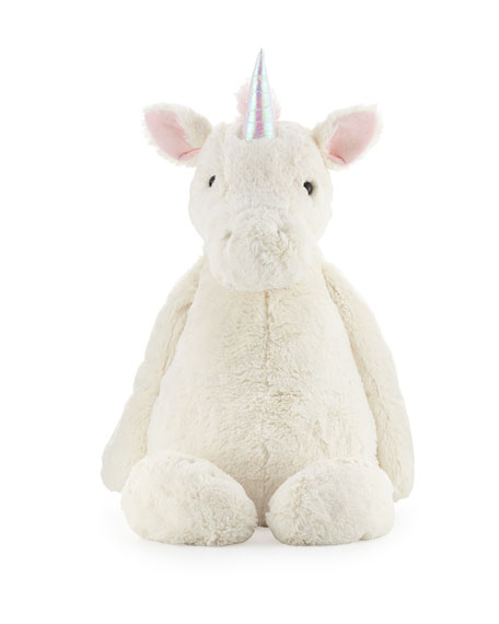 JellycatReally Big Bashful Unicorn, Cream
