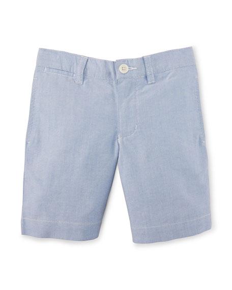 Ralph Lauren Suffield Oxford Shorts, BSR Blue, Size