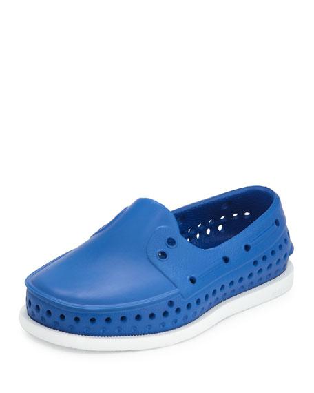 Native Howard Waterproof Rubber Boat Shoe, Victoria Blue,