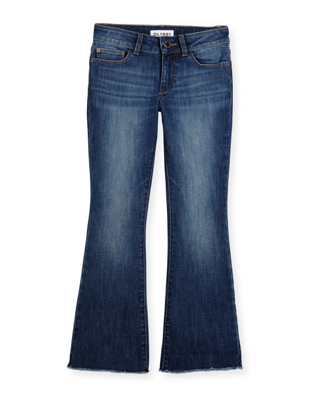 DL1961 Premium Denim Isabel Faded Flare Jeans, Cozy,
