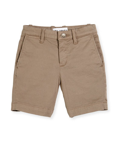Jacob Stretch Chino Shorts, Cannon, Size 8-16