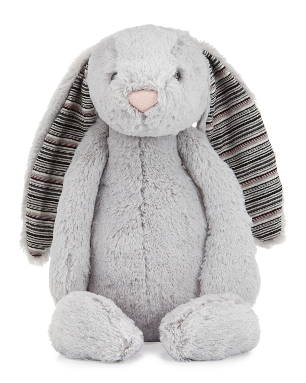 Jellycat Large Bashful Blake Bunny Stuffed Animal Gray Neiman Marcus