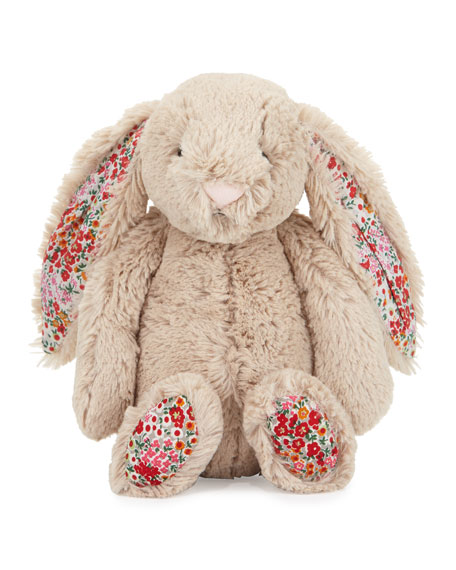 Jellycat Medium Bashful Blossom Posy Bunny Stuffed Animal,