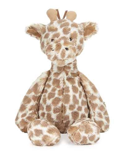 Dapple Giraffe Stuffed Animal, Brown