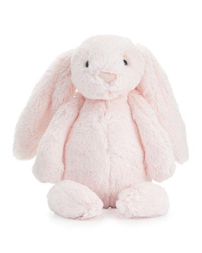 Plush Bashful Bunny Chime Stuffed Animal, Pink