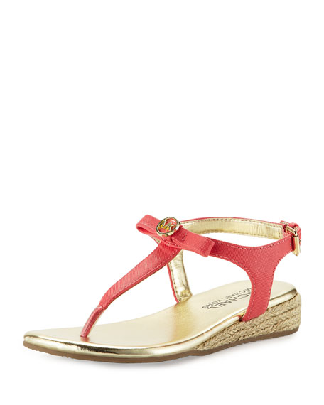 MICHAEL Michael Kors Perry Rita Wedge Thong Sandal,