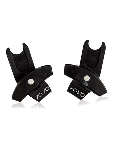 YOYO+ Car Seat Adapter, Black