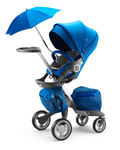 Xplory® Cobalt Blue Limited Edition Stroller