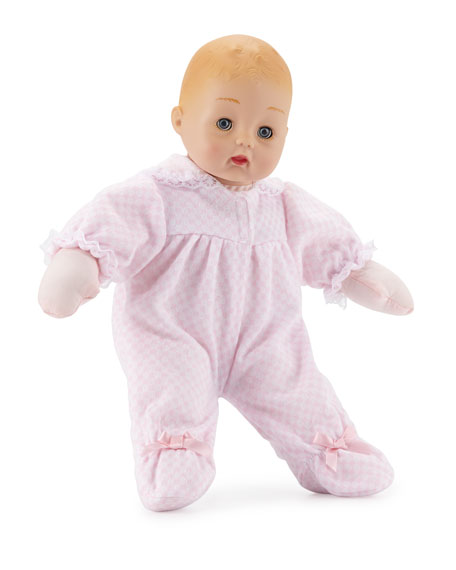 Pink Check Huggums® Doll