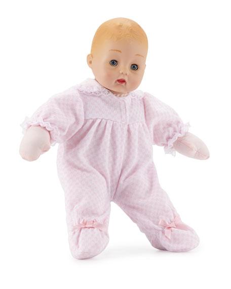 Pink Check Huggums® Doll