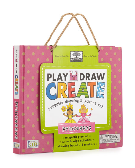 Princess Play, Draw, Create Set