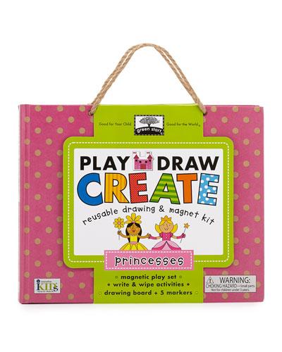 Princess Play, Draw, Create Set