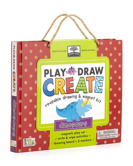 Dinosaur Play, Draw, Create Set
