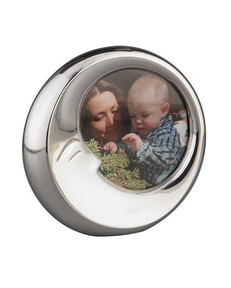 Sleep Moon Stainless Steel Picture Frame