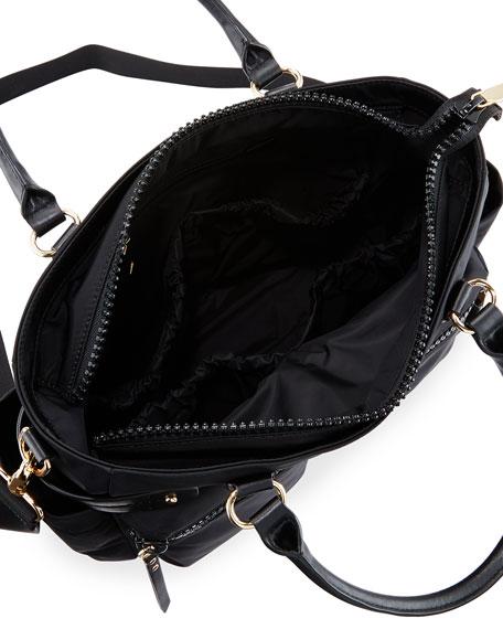 rebecca minkoff zoe nylon diaper bag black. Black Bedroom Furniture Sets. Home Design Ideas