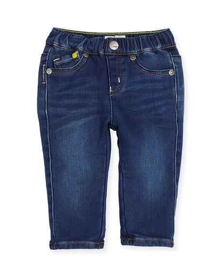 Armani Junior Super Soft Denim Skinny Jeans, Blue,