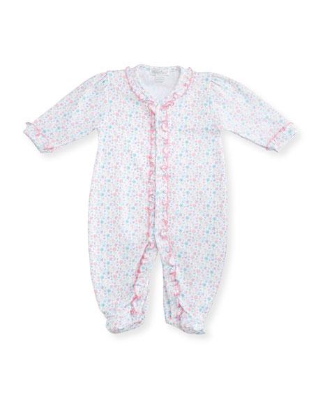 Kissy KissyElegant Ellie's Printed Footie Pajamas, Pink, Size
