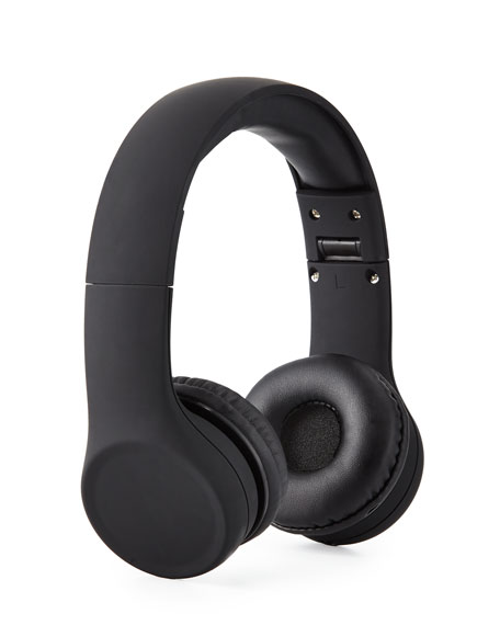 Kids' Connect+™ Wired Headphones, Black