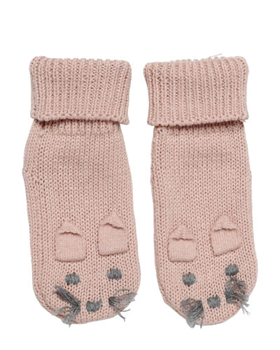 Flopsy Bunny Booties, Pink, Infant