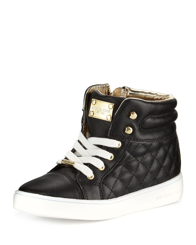 cfee4427cda MICHAEL Michael Kors Cora Faux-Leather High-Top Sneaker