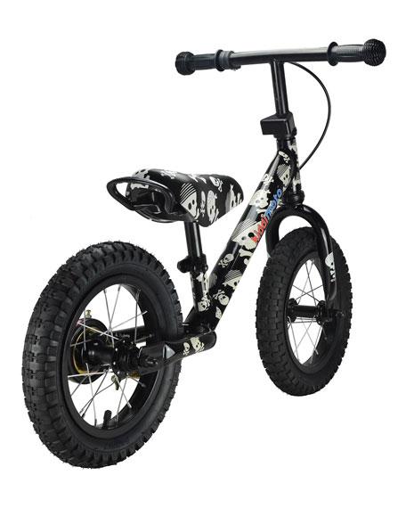 Super Junior Max Skullz Balance Bike