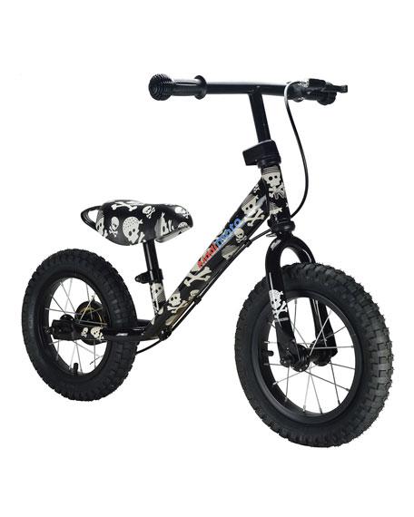 Kiddimoto Super Junior Max Skullz Balance Bike